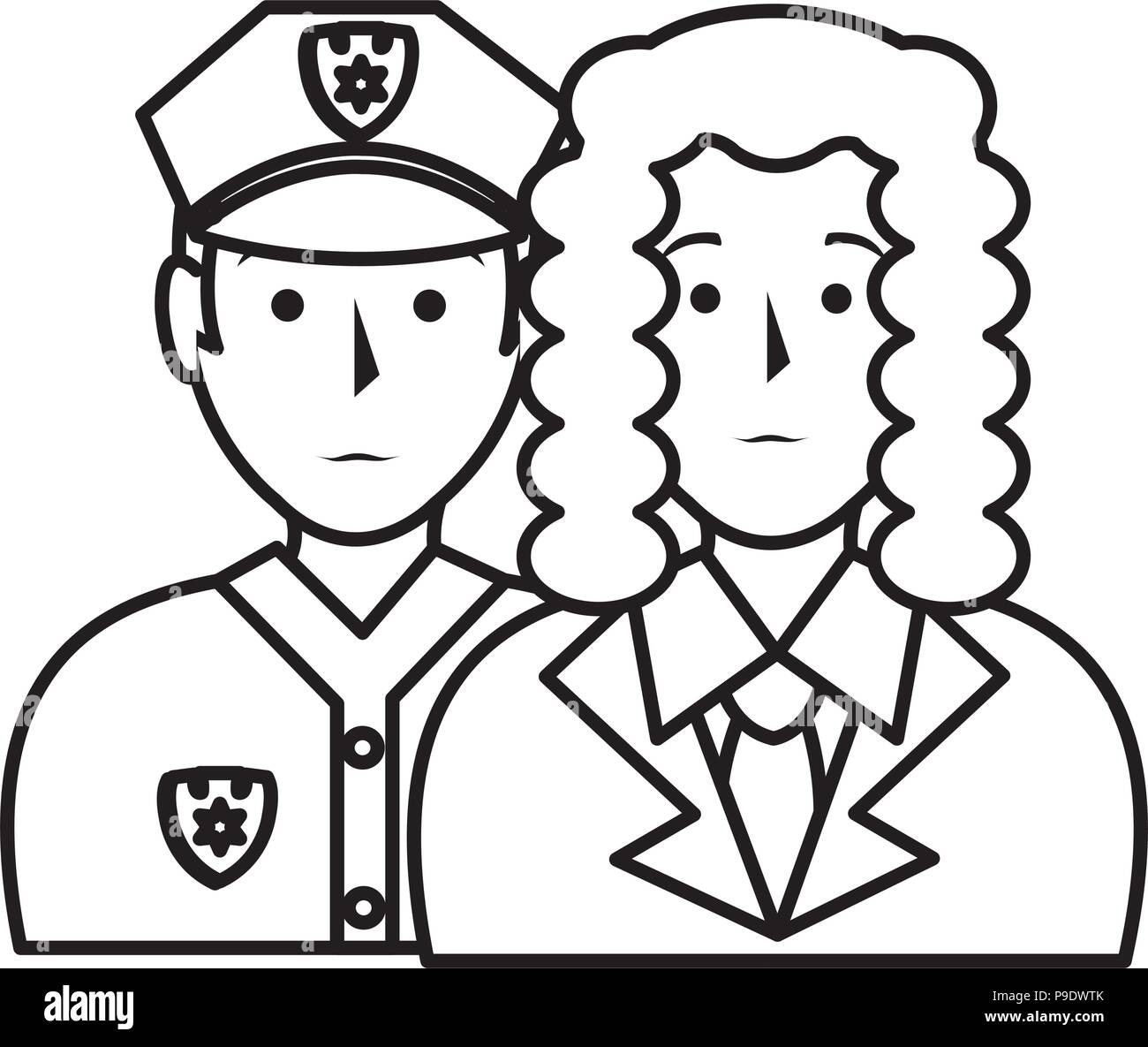 Police Characters Stock Photos Police Characters Stock Images Alamy