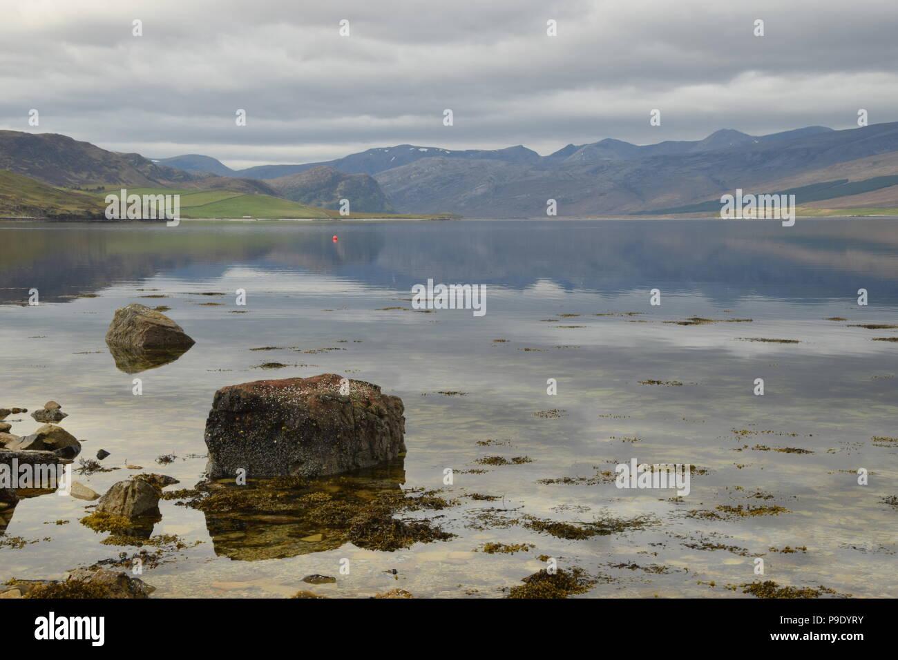 Loch Eribol, Sutherland, Scotland - Stock Image