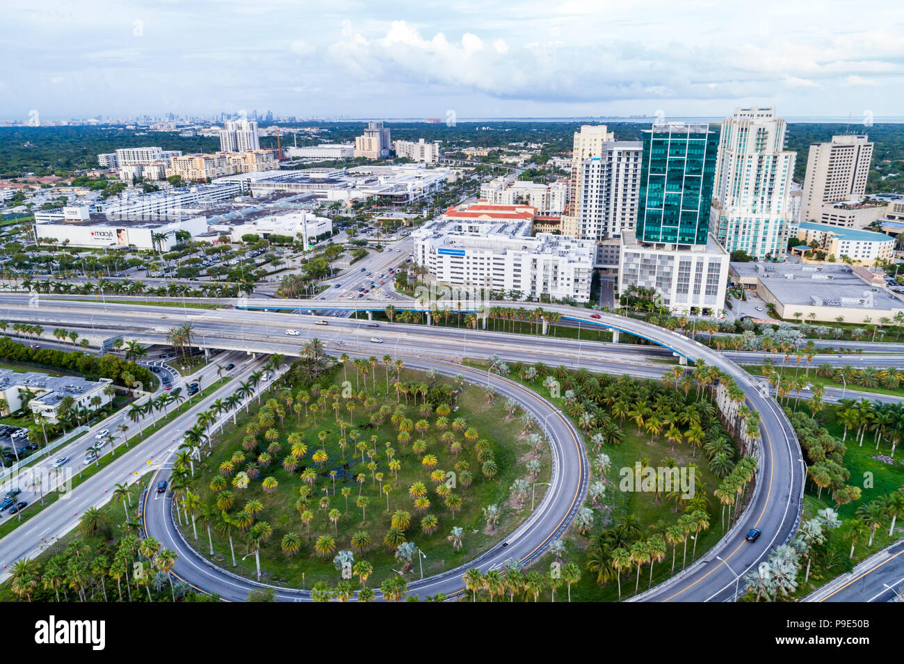 Miami Florida Town Center One at Dadeland Palmetto Expressway