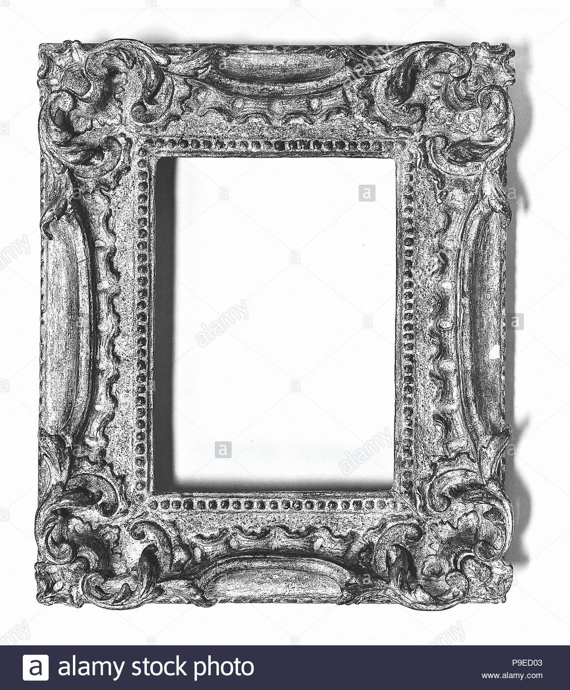 Rococo Frame Ca 1765 British Pine 312 X 255 185 X 13 20 X