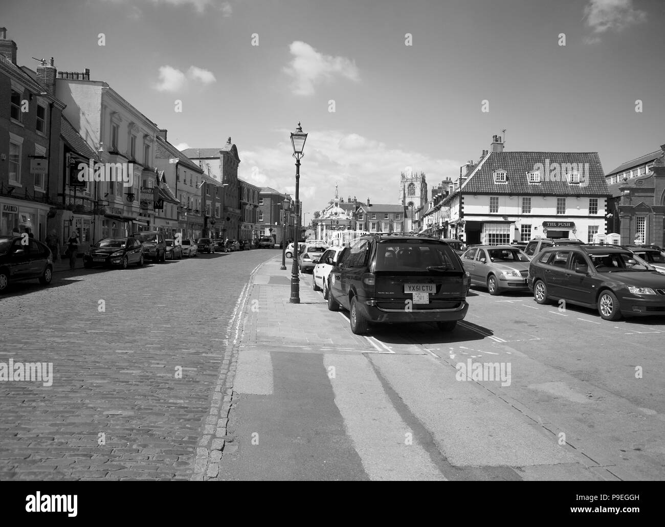 Beverley, East Yorkshire, England UK - Stock Image