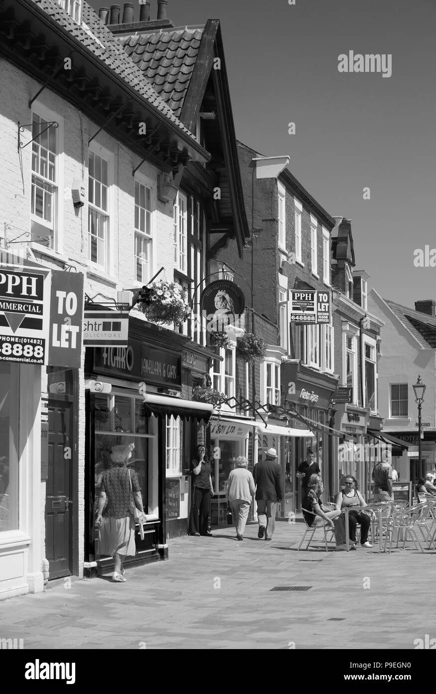Beverley, East Yorkshire, England UK - Stock Image