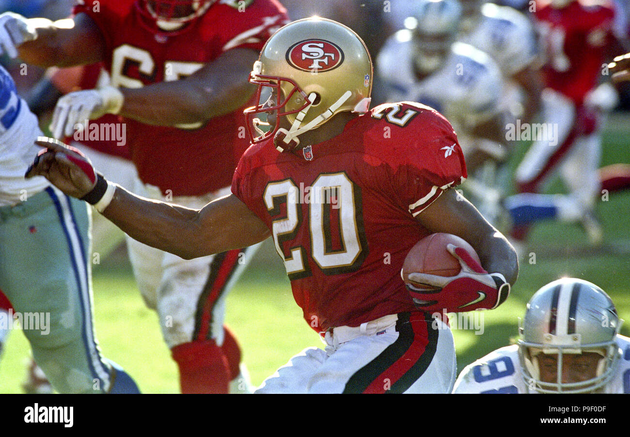 bc452d9d265 San Francisco 49ers vs. Dallas Cowboys at Candlestick Park Sunday, November  2, 1997. 49ers beat Cowboys 17-10. San Francisco 49ers running back  Garrison ...