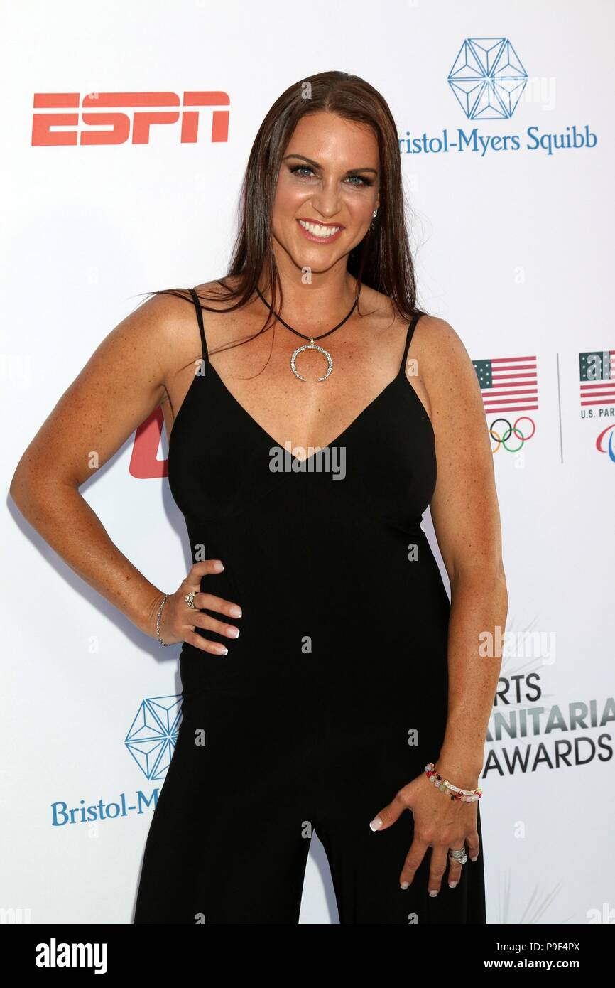 Los Angeles, CA, USA. 17th July, 2018. Stephanie McMahon at arrivals for Sports Humanitarian of the Year Awards, The Novo by Microsoft at L.A. LIVE, Los Angeles, CA July 17, 2018. Credit: Priscilla Grant/Everett Collection/Alamy Live News - Stock Image
