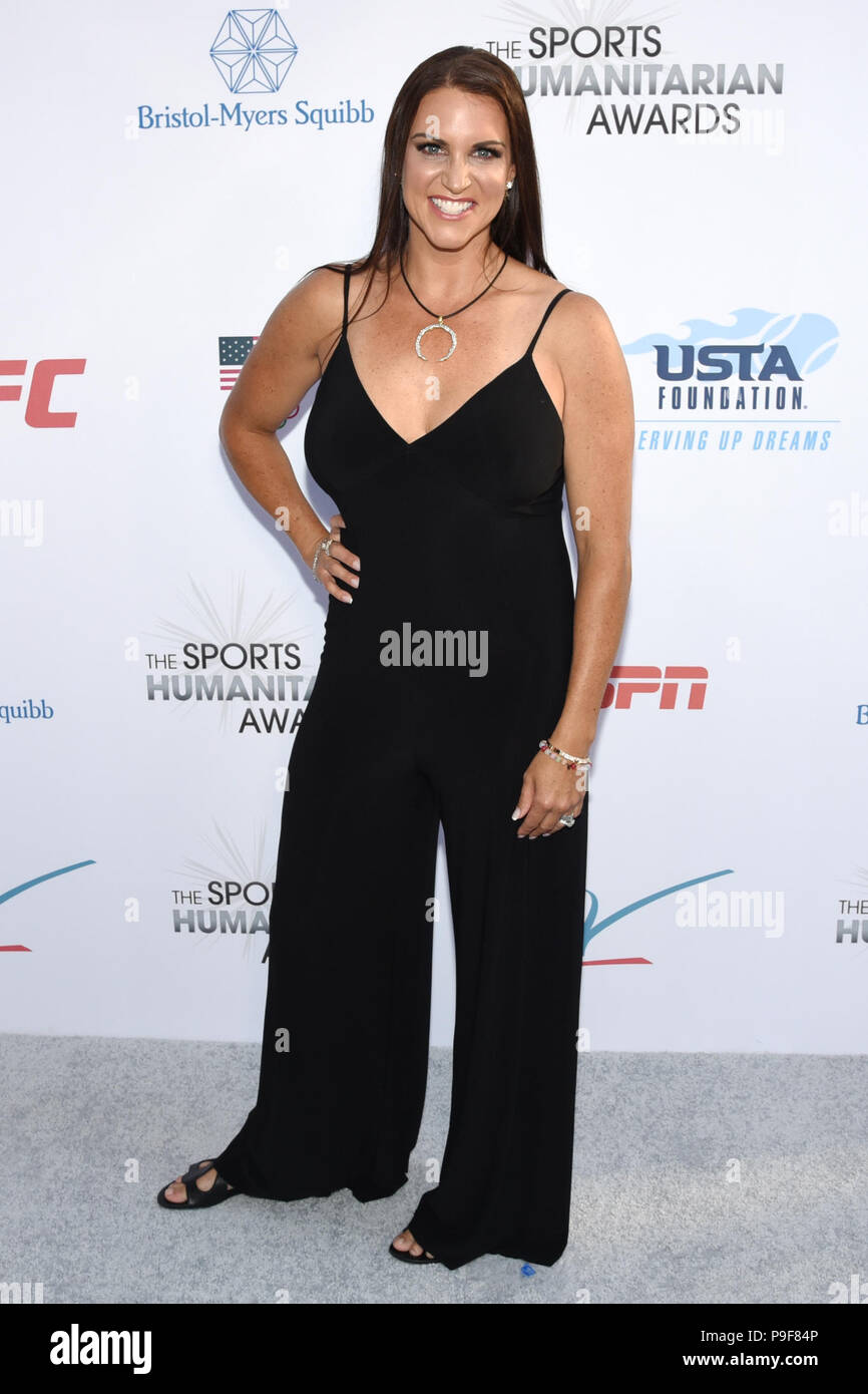 Los Angeles, California, USA. 17th July, 2018. STEPHANIE MCMAHON attends the 4th Annual Sports Humanitarian Awards at LA LIVE'S The Novo in Los Angeles. Credit: Billy Bennight/ZUMA Wire/Alamy Live News - Stock Image