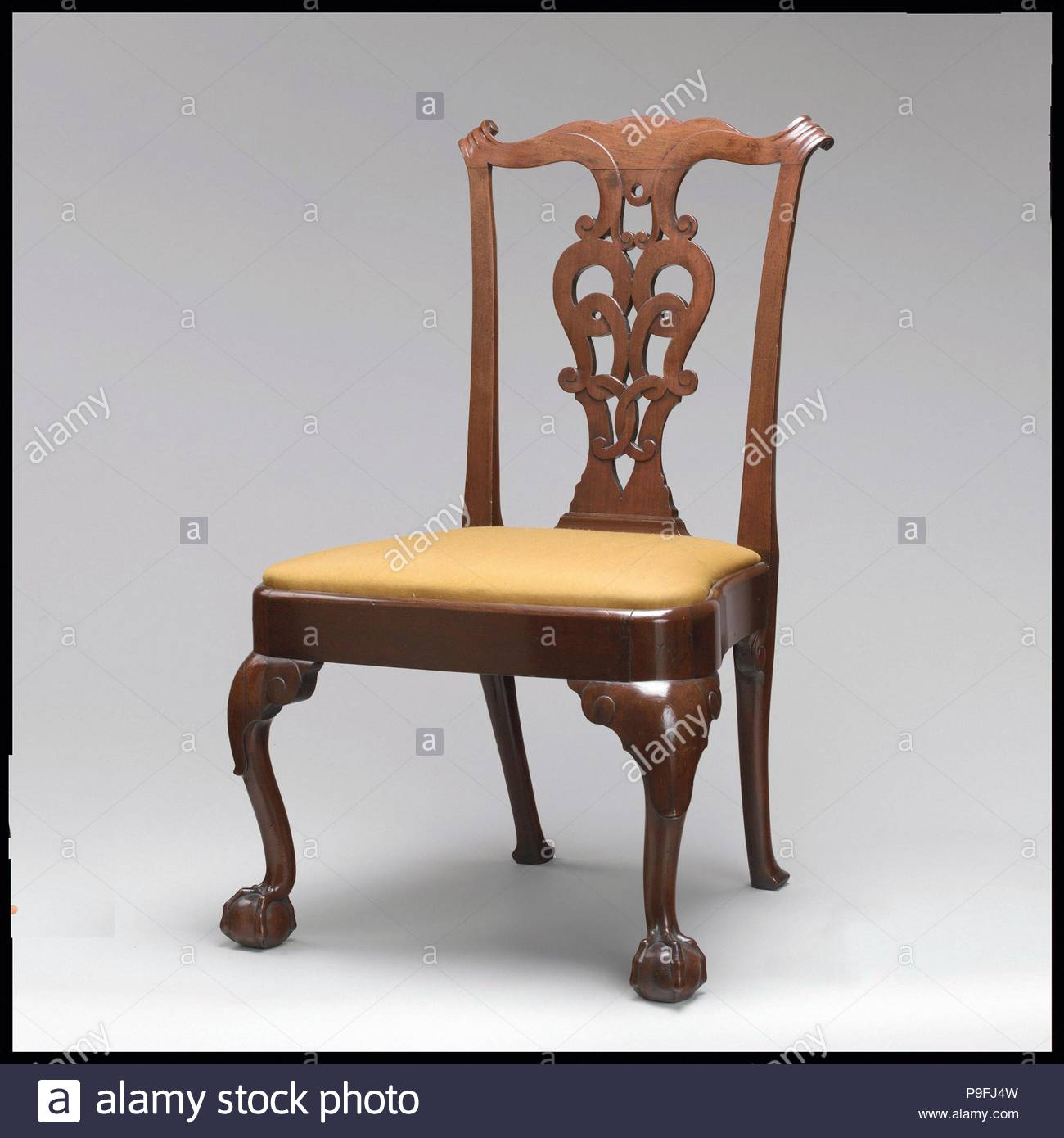 Side Chair, 1760–90, Probably made in New York, New York, United ...