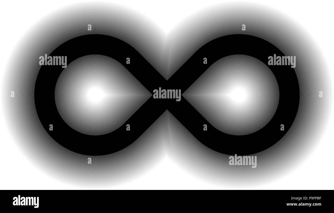 Infinity Symbol Glow Stock Photos Infinity Symbol Glow Stock