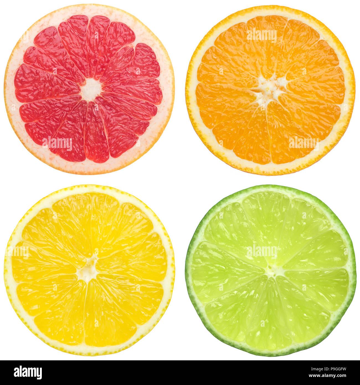 juicy citrus Stock Photo