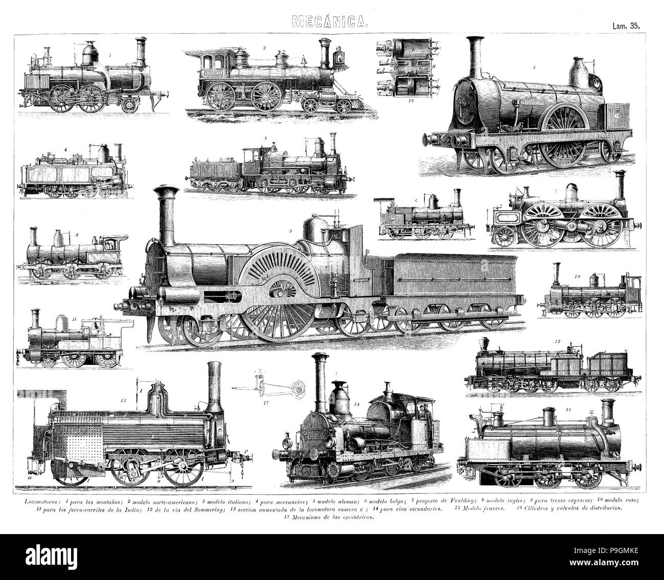 Steam Trains Cut Out Stock Images & Pictures - Alamy