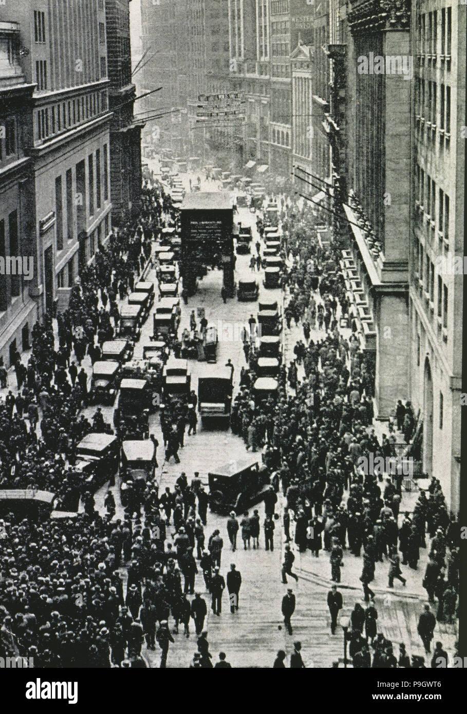 Wall Street Crash New York 1929 Stock Photos & Wall Street ...