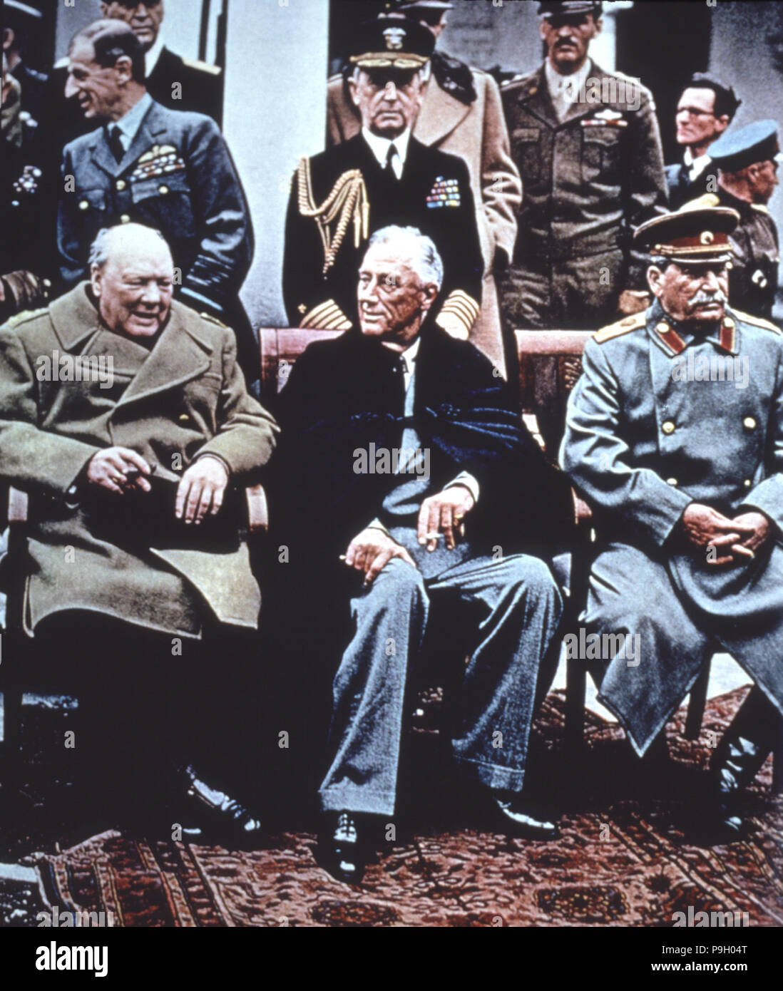 1945 Yalta Conference Stock Photos 1945 Yalta Conference Stock