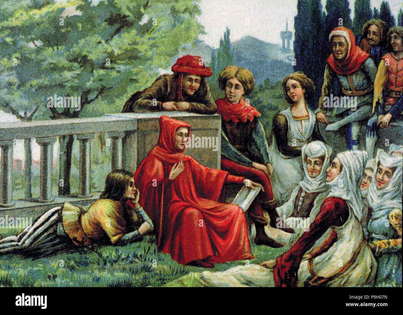 Boccaccio Decameron High Resolution Stock Photography And Images Alamy The Decameron
