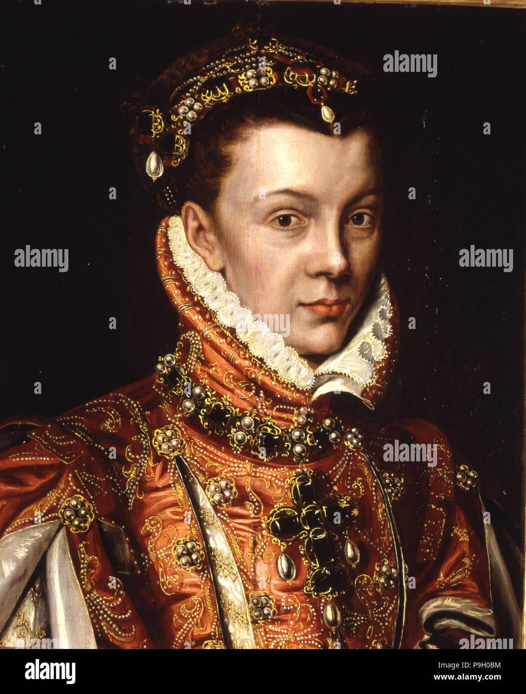 Isabel de Valois (1546-1568), wife of Felipe II.