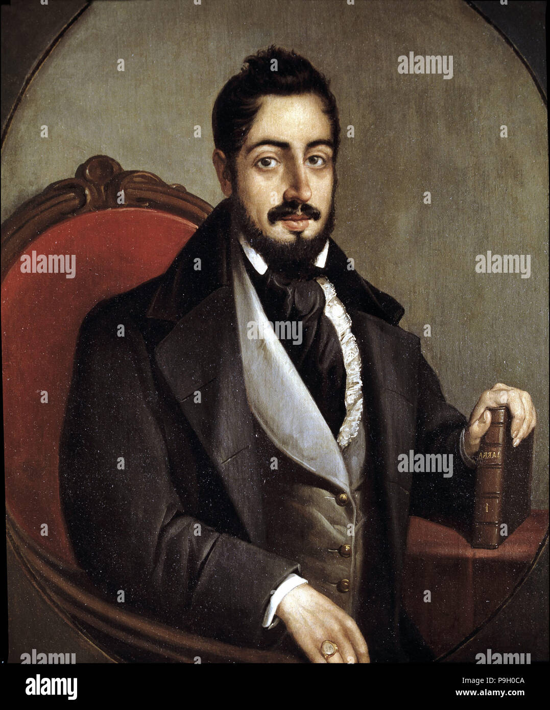 Mariano José De Larra 1809 1837 Spanish Writer Stock Photo Alamy