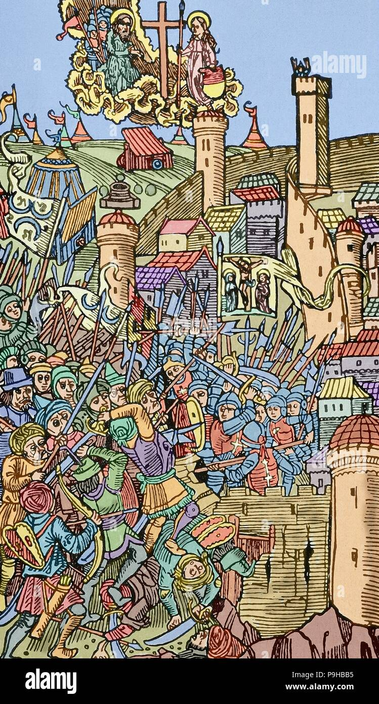 Ottoman Wars In Europe Siege Of Rhodes 1480 Military Action