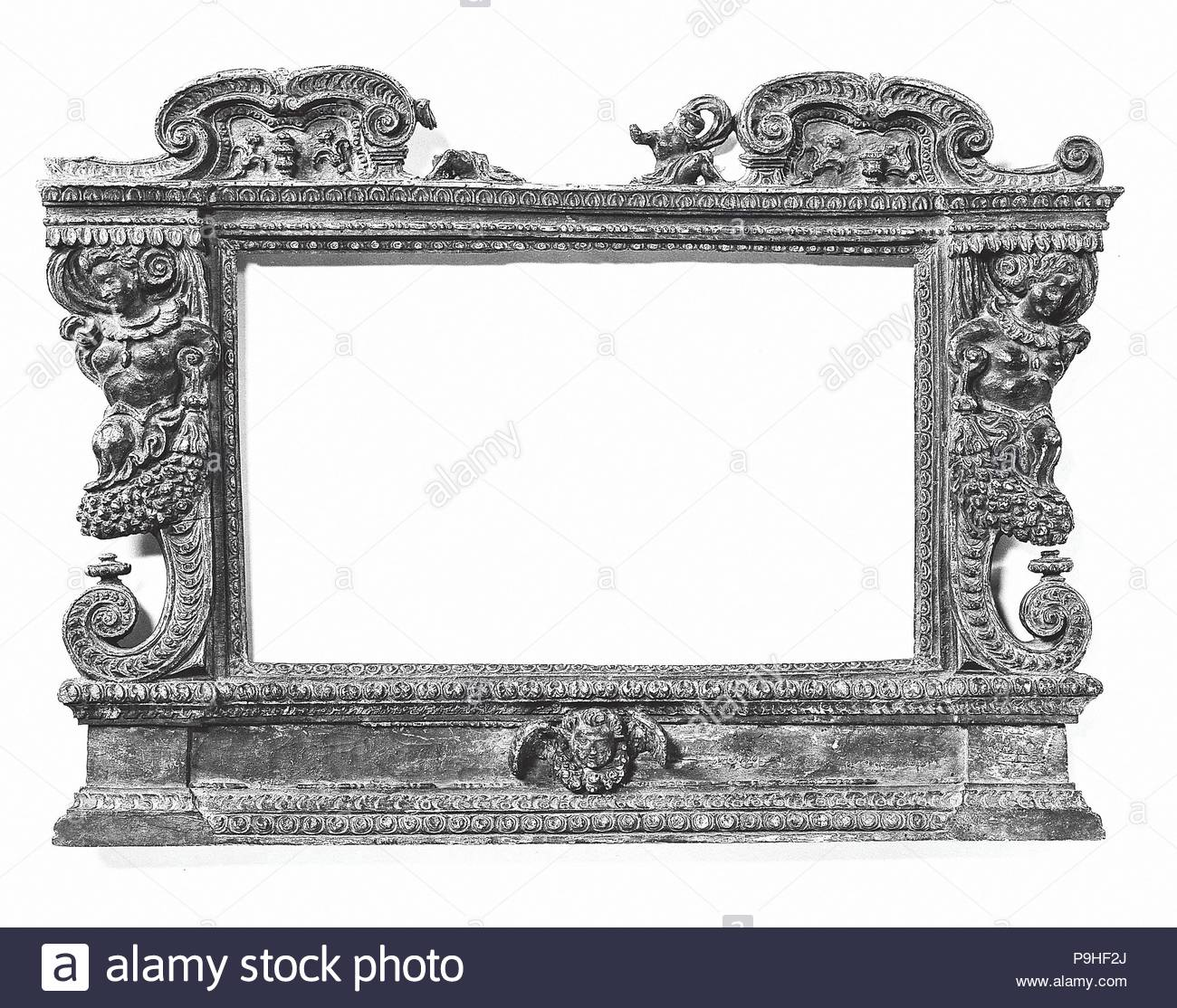 Tabernacle frame, style 16th century, made ca. 1920, Italian, Tuscan ...