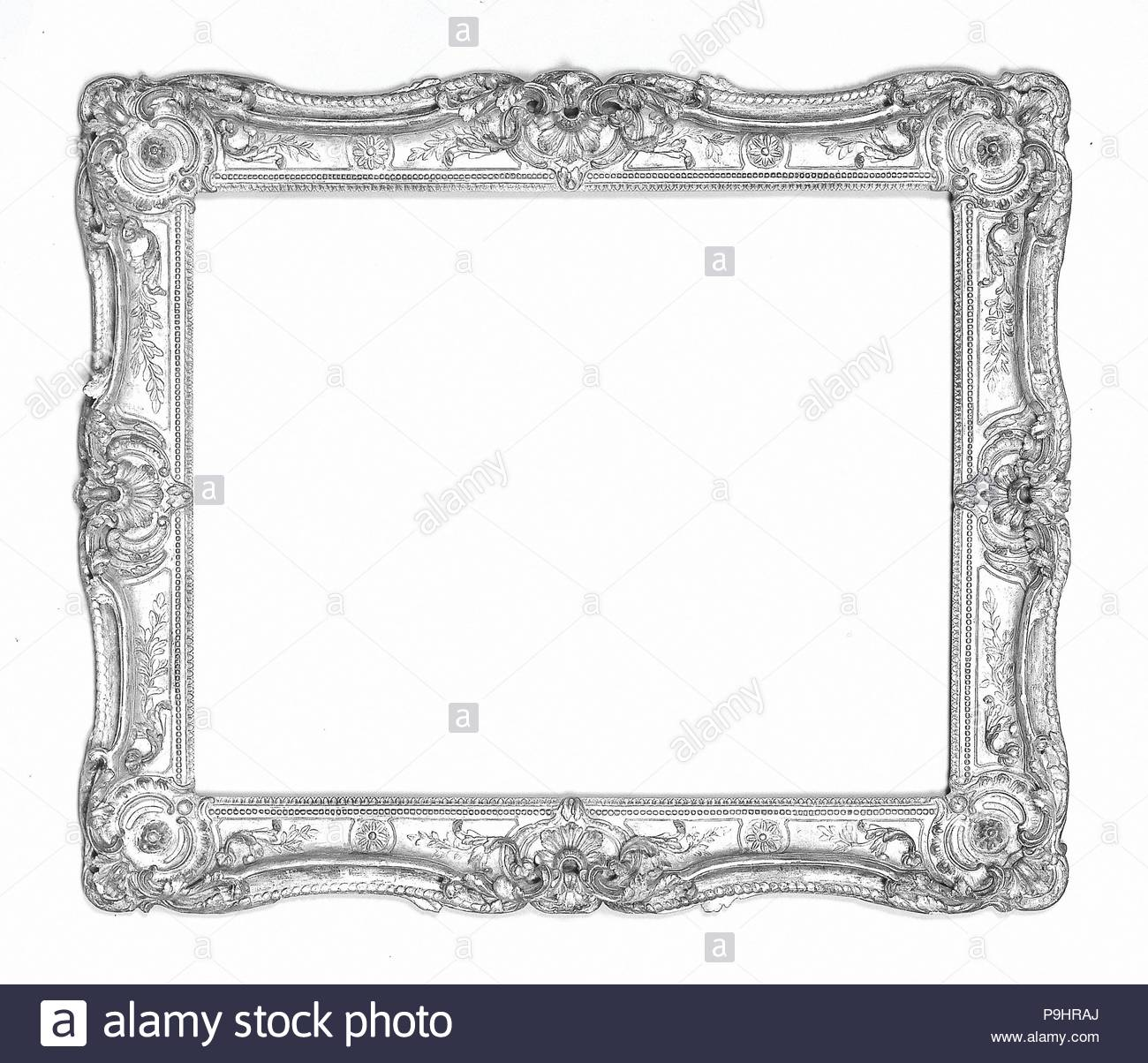 Swept frame, ca. 1755, French, Oak lower moldings and feather keys ...
