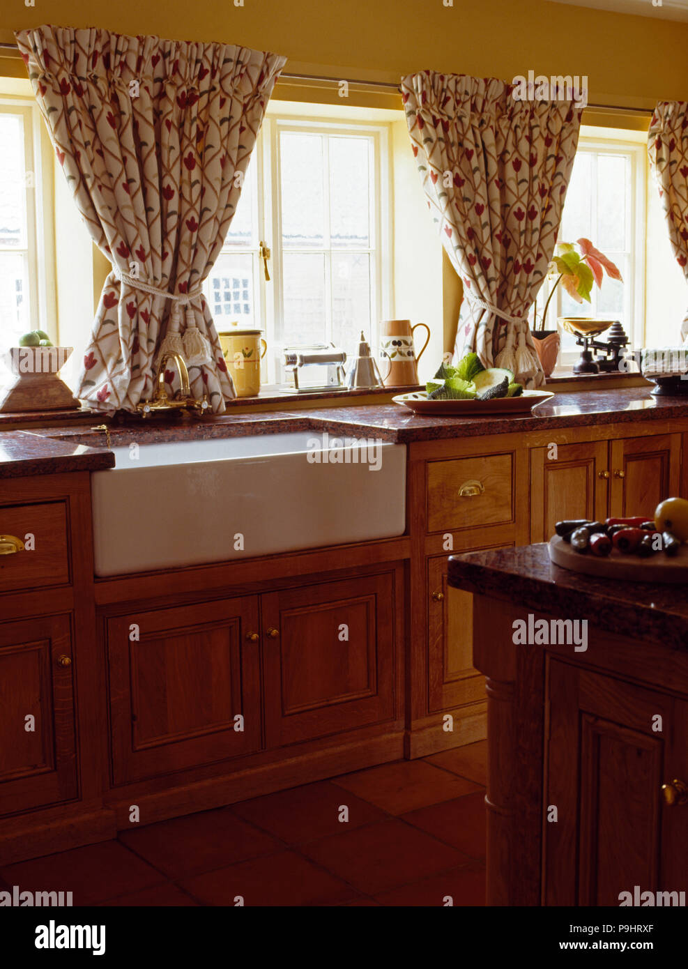Curtains For Kitchen Window Above Sink Home Design