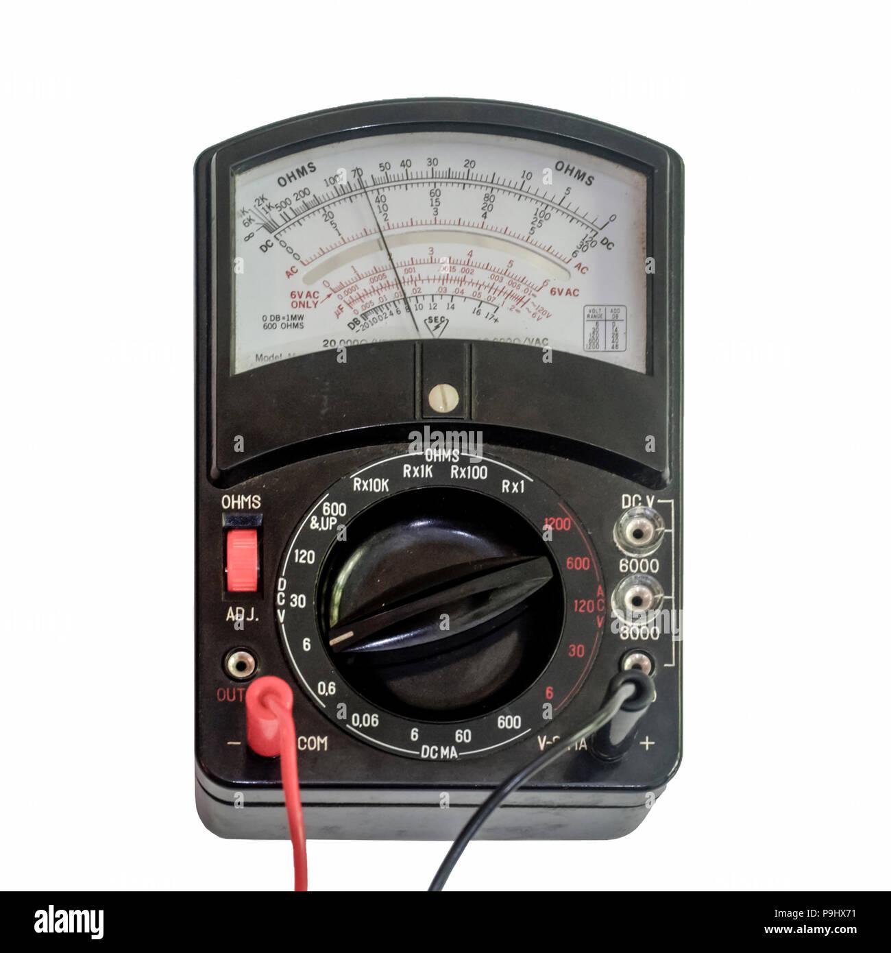 analog multimeter being used as a voltmeter stock photo 212450085analog multimeter being used as a voltmeter