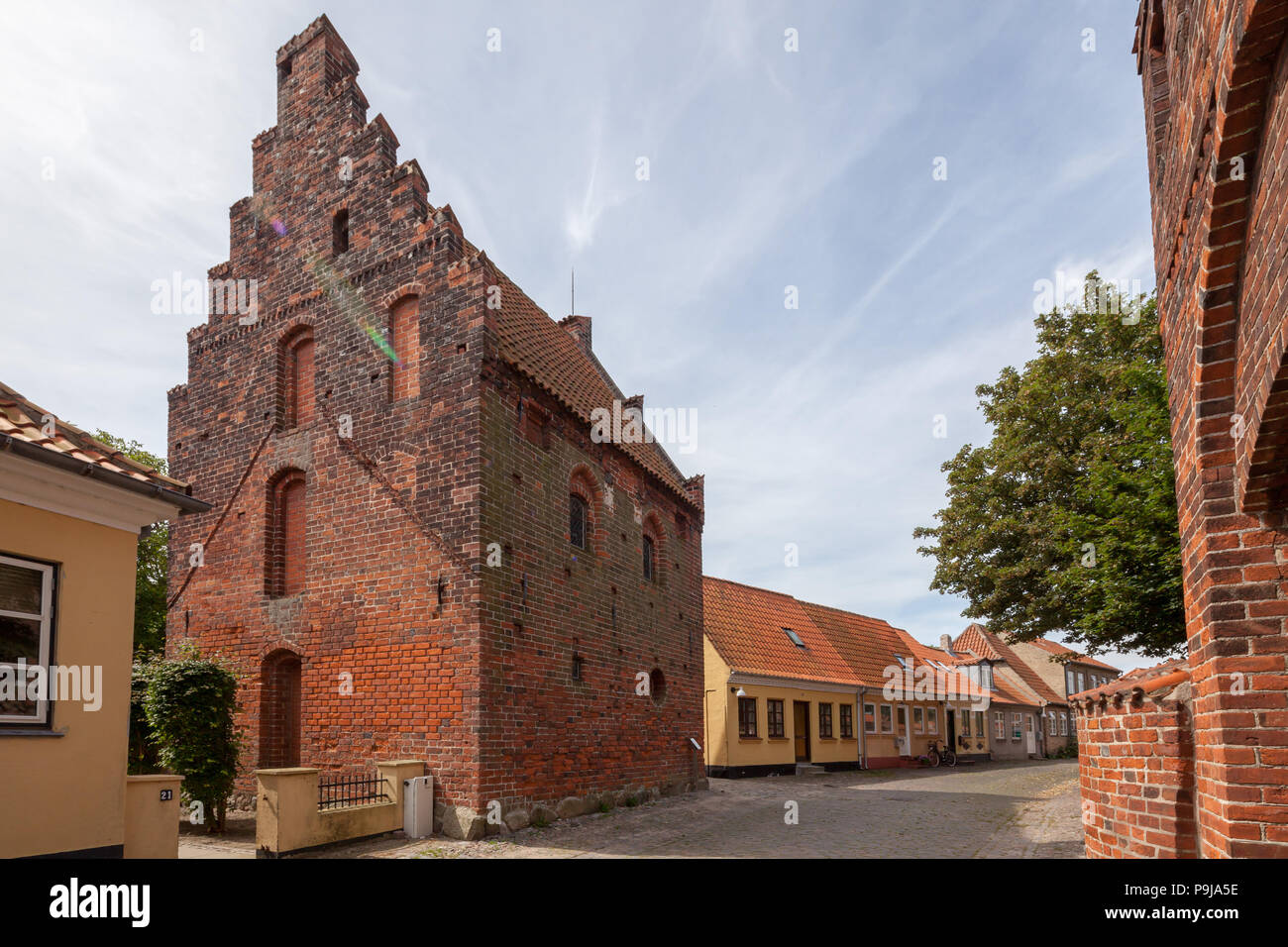 Kalundborg, Denmark - Stock Image
