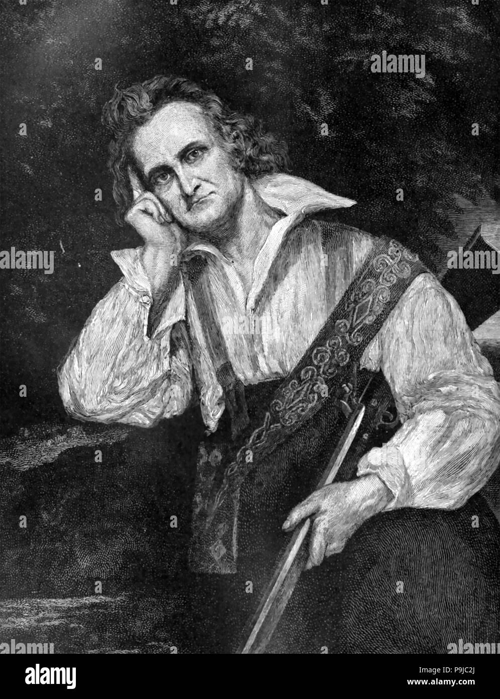 JOHN JAMES AUDUBON (1785-1851) American ornithologist and painter Stock Photo