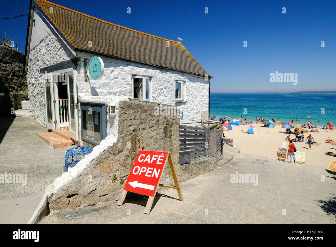 Porthgwidden Beach Cafe Menu