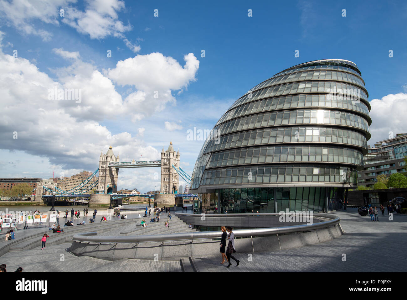 City Hall, headquarters of the Greater London Authority , UK - Stock Image