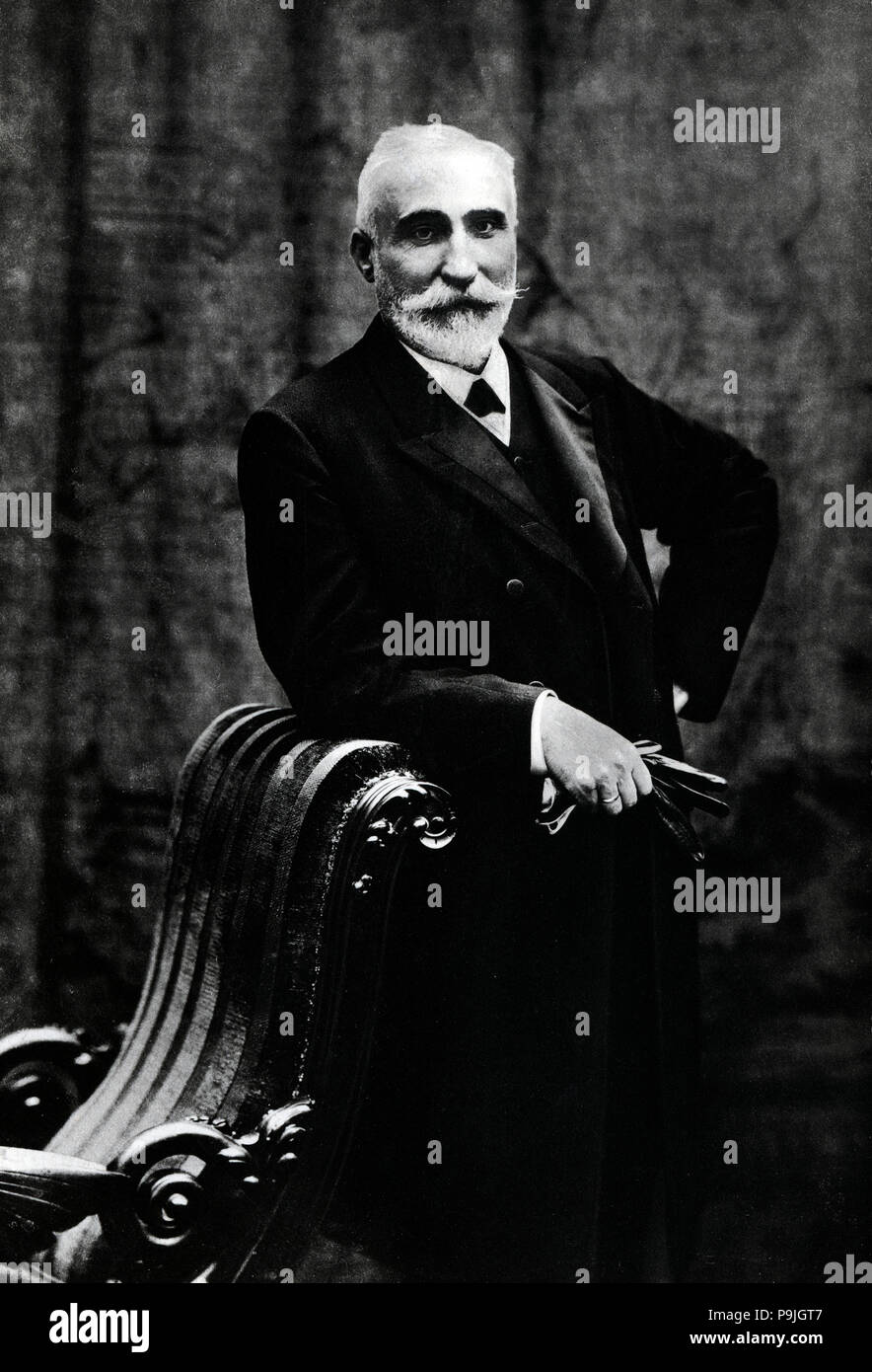 Antonio Maura y Montaner (Palma de Mallorca, 1853-Torrelodones, 1925), Spanish lawyer and politician. Statesman, five times Prime Minister, father of Gabriel and Miguel Maura, began his political career within liberalism and was identified with the regeneration. - Stock Image