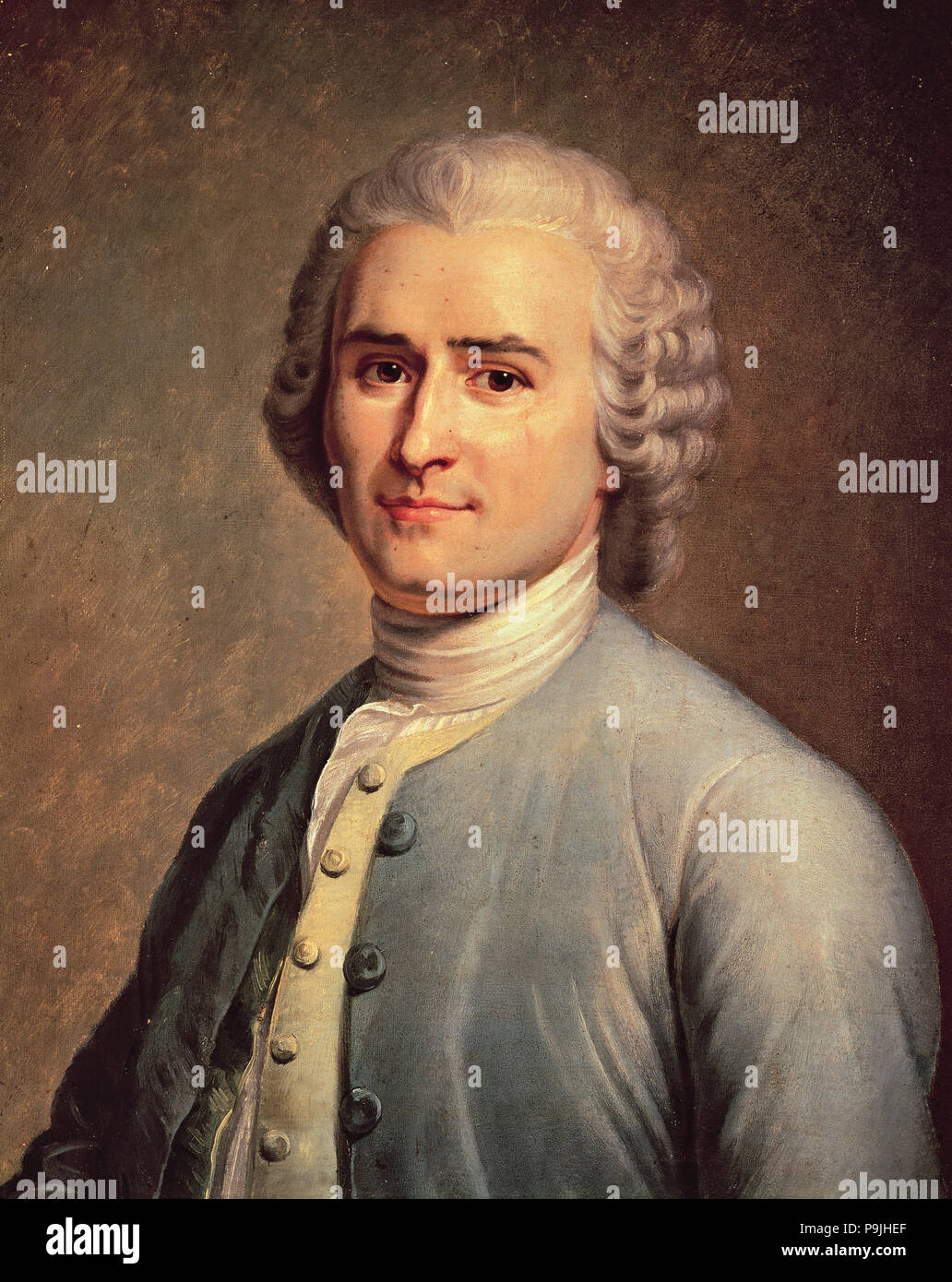 Jean Jacques Rousseau 1712 1778 Swiss Writer And