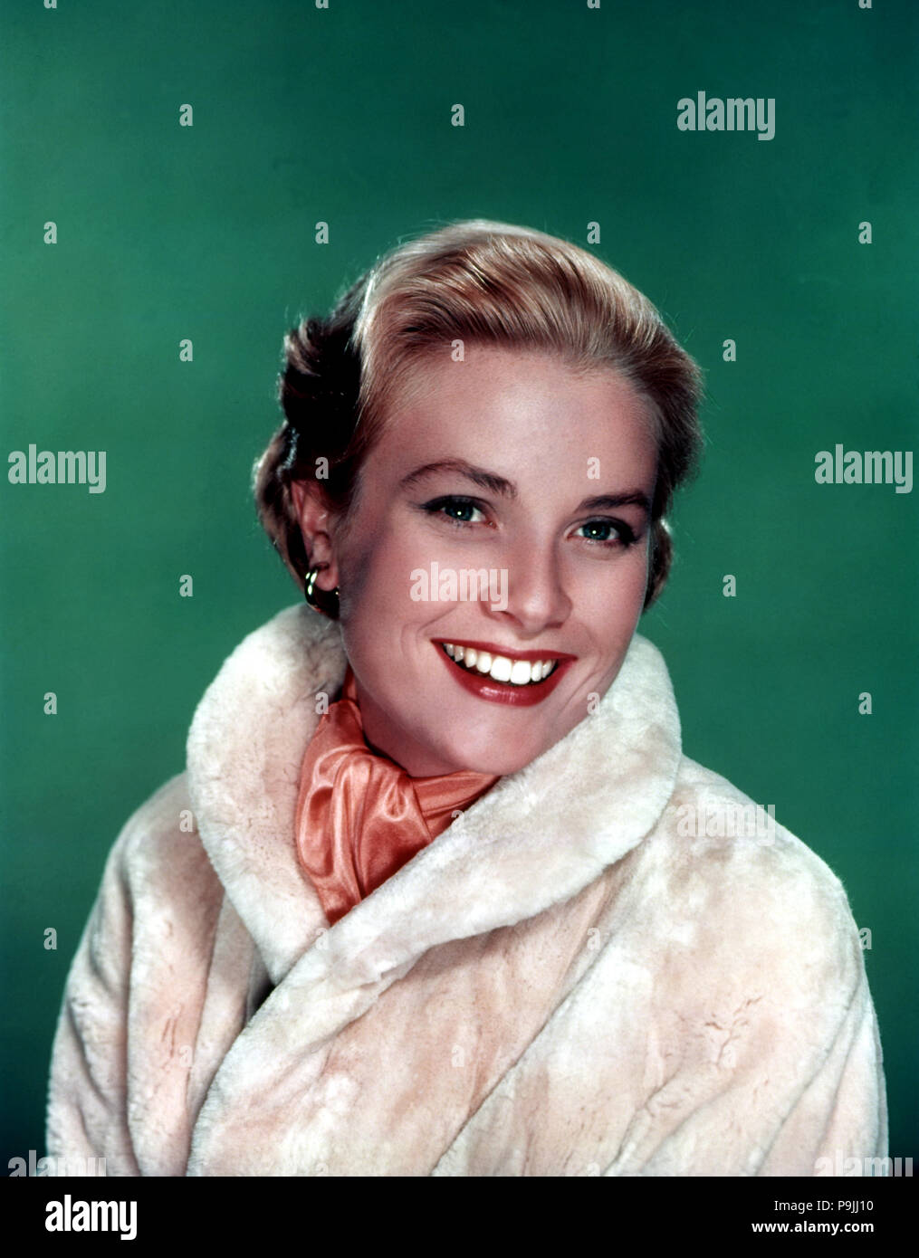 Grace Kelly (1928-1982), American actress, Princess of Monaco for his marriage to Rainier III. - Stock Image