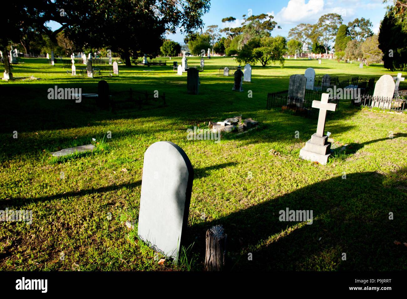 East Perth Cemeteries - Australia - Stock Image
