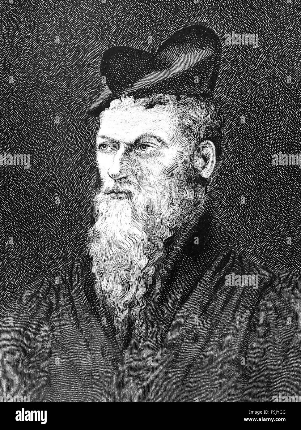 PIERRE BELON (1517-1564) French naturalist and diplomat - Stock Image