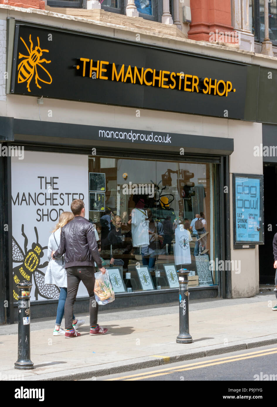The Manchester Shop, Oldham Street, Manchester - Stock Image
