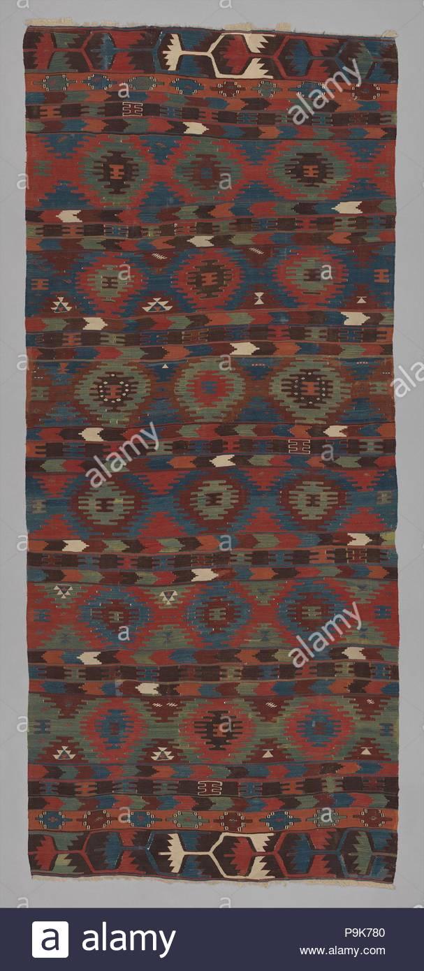 Carpet First Half 19th Century Attributed To Turkey Ankara Wool