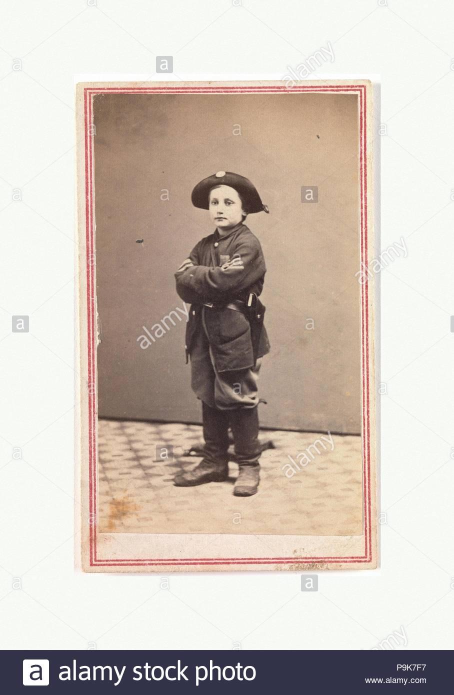 Sergeant John Lincoln Clem The Drummer Boy Of Chickamauga Ca 1864 Albumen