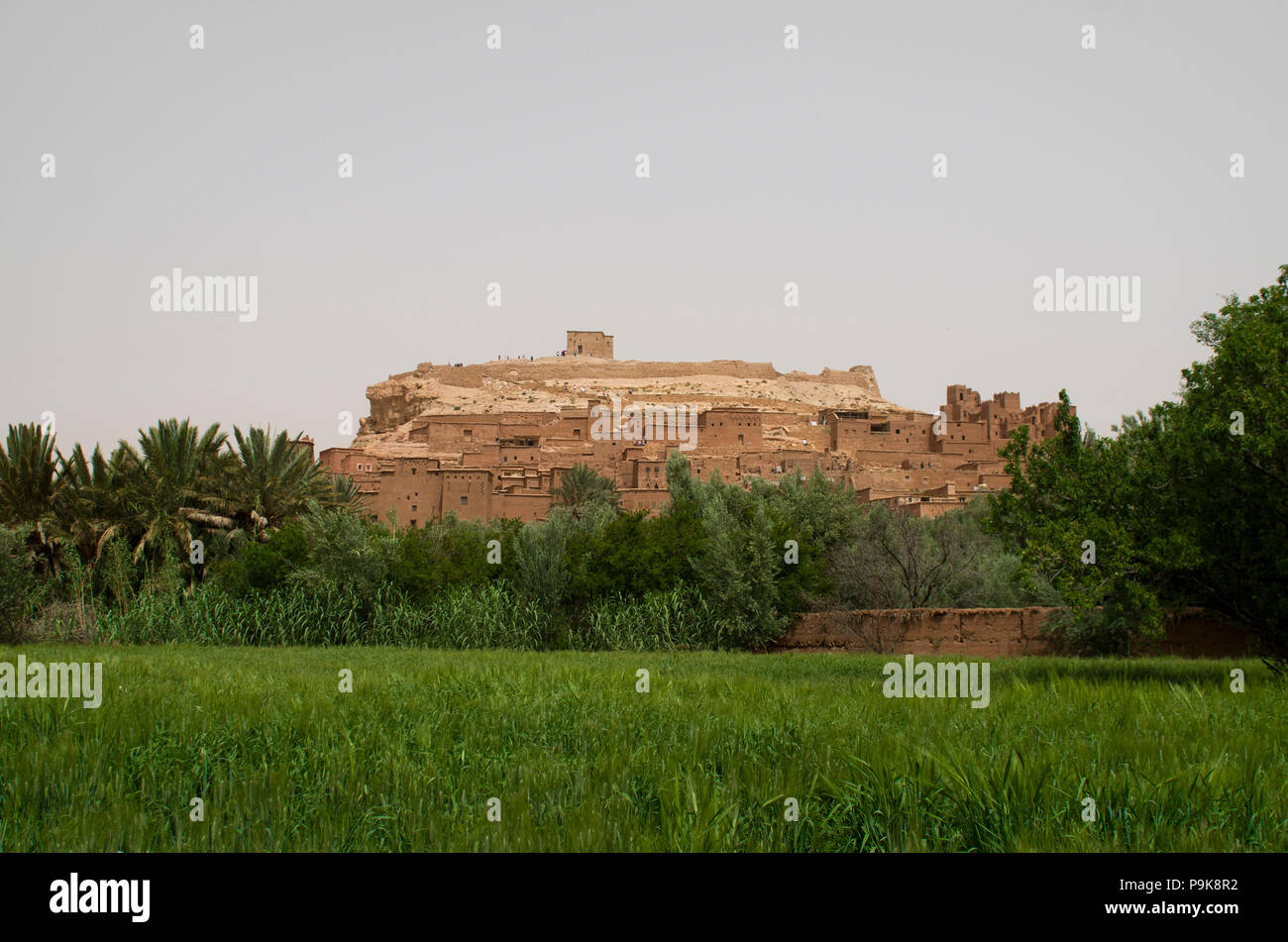 fortress in morocco, africa - Stock Image