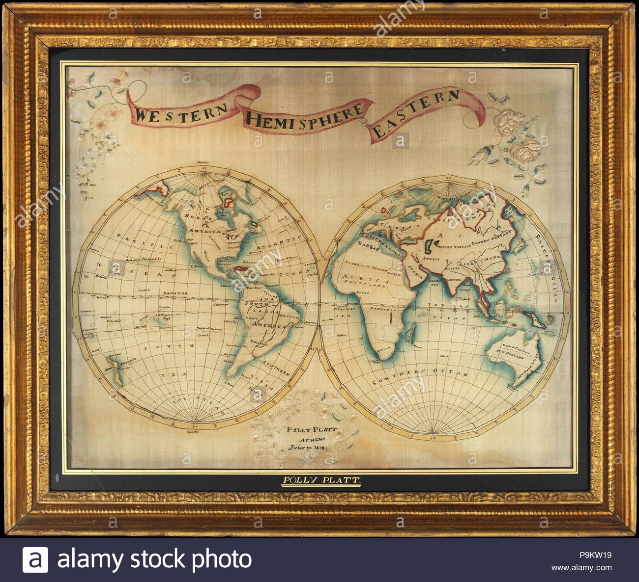 559d9cb93bb Map Embroidery Stock Photos   Map Embroidery Stock Images - Alamy