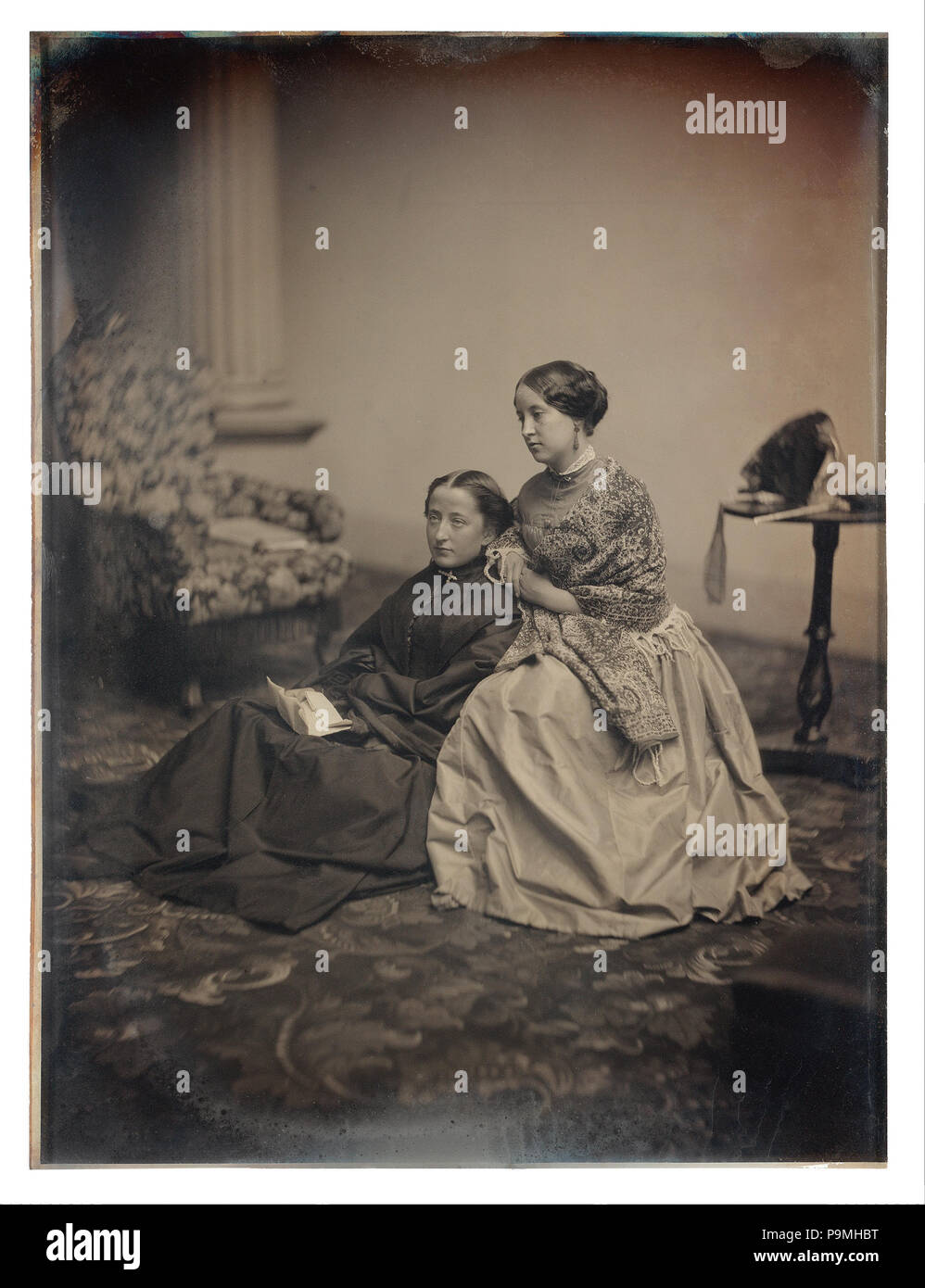109 Albert Sands Southworth and Josiah Johnson Hawes - The Letter - - Stock Image