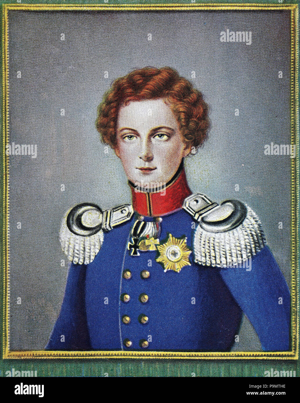 Frederick William IV and the Prussian Monarchy 1840-1861