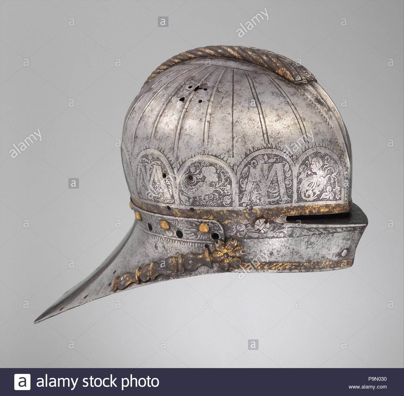 Jousting Sallet Made For Louis II 1506 1526 King Of Hungary And
