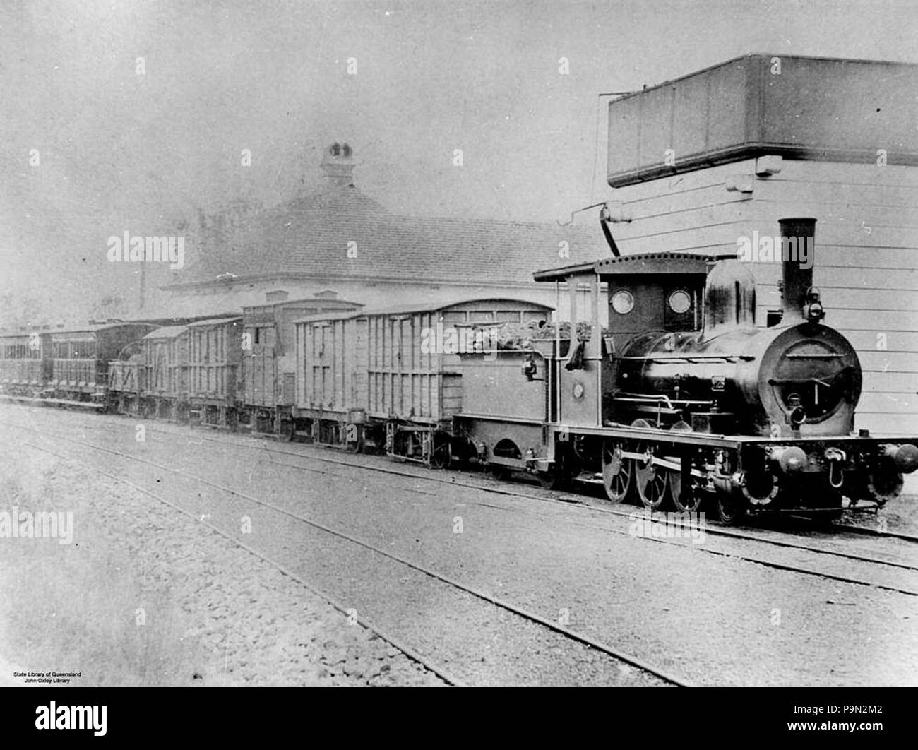 Queensland Train Black and White Stock Photos & Images - Alamy