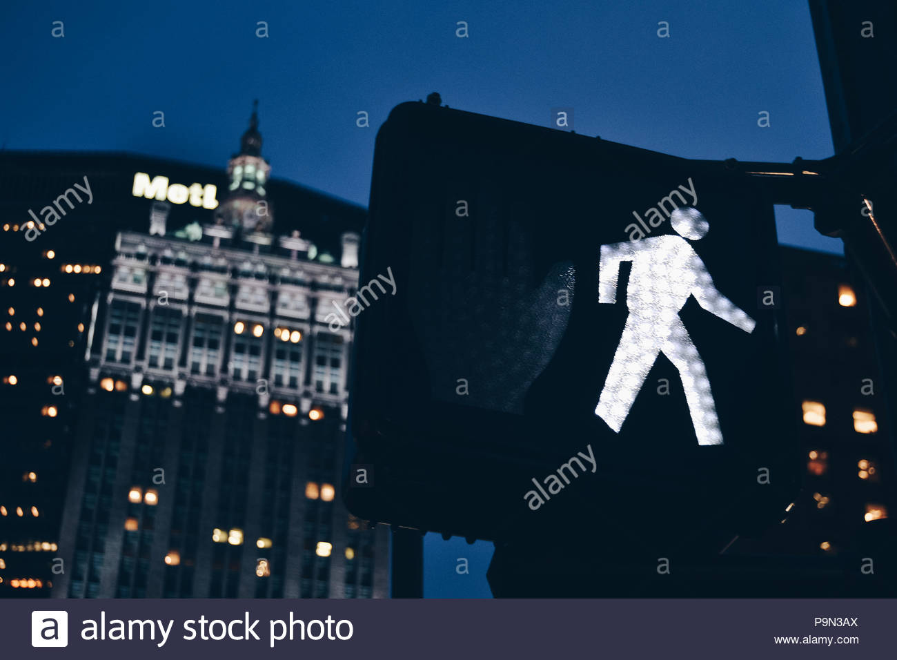 Traffic man - Stock Image