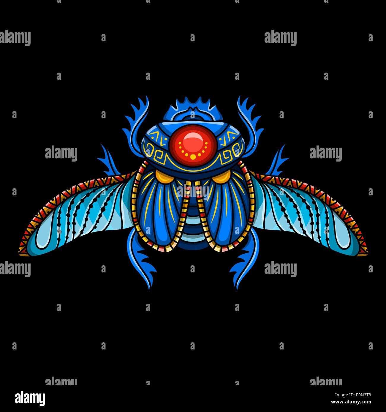 Egyptian Scarab Symbol Of Pharaoh Gods Ra Sun Mythology T Shirt