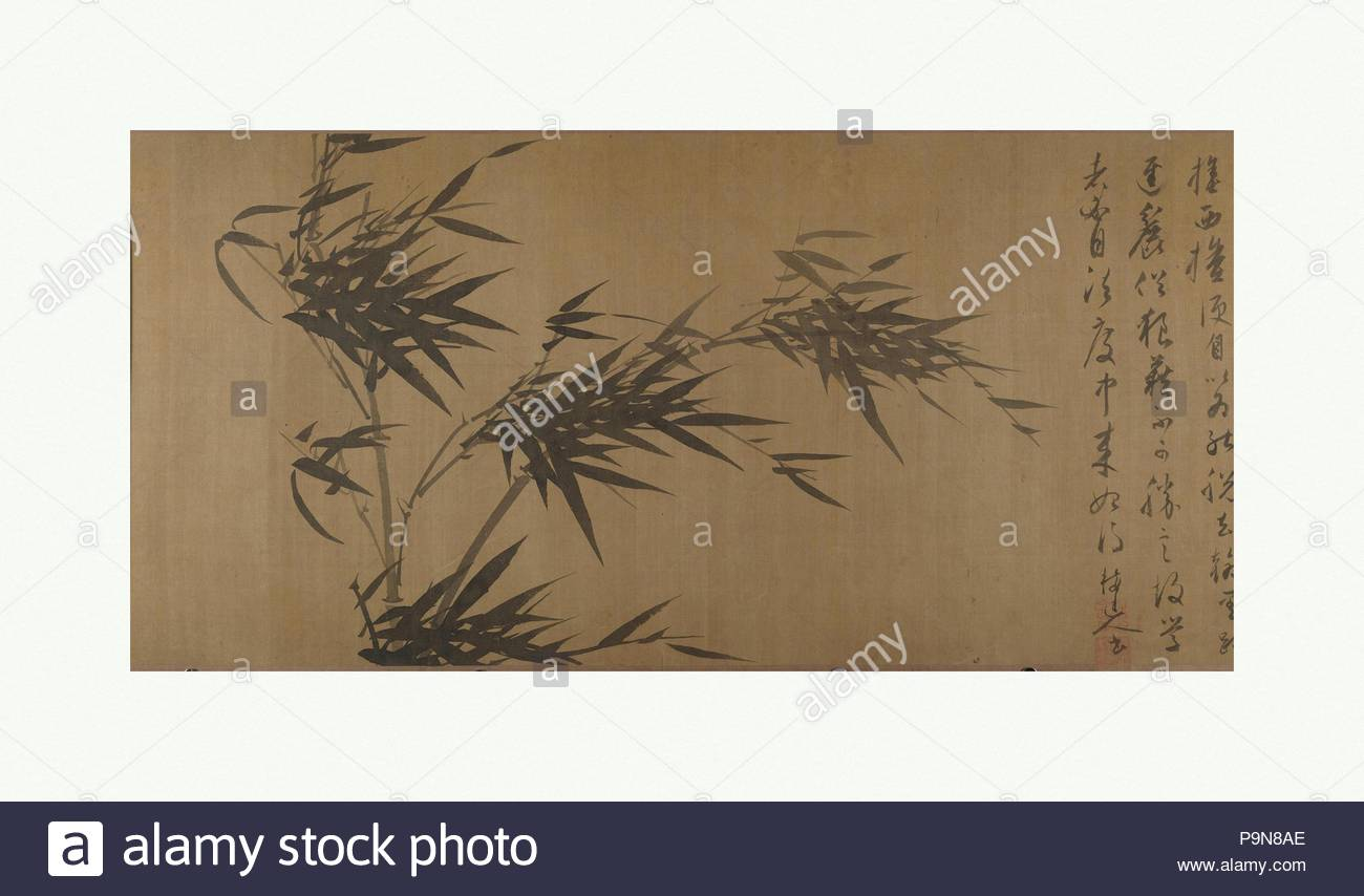Paintings On Bamboo Stock Photos Amp Paintings On Bamboo