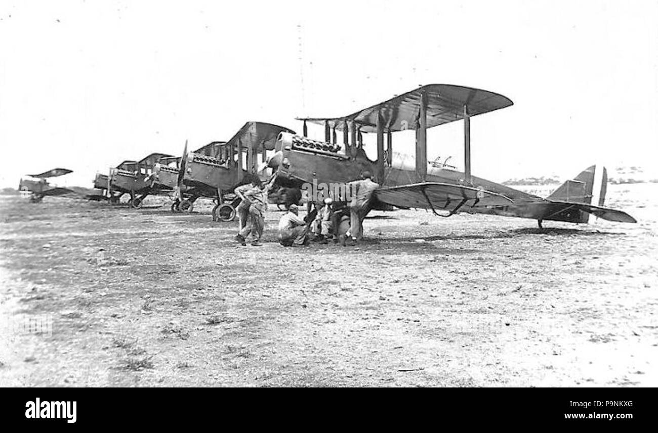 72 6th Aero Squadron JN-4 Jennies - Stock Image