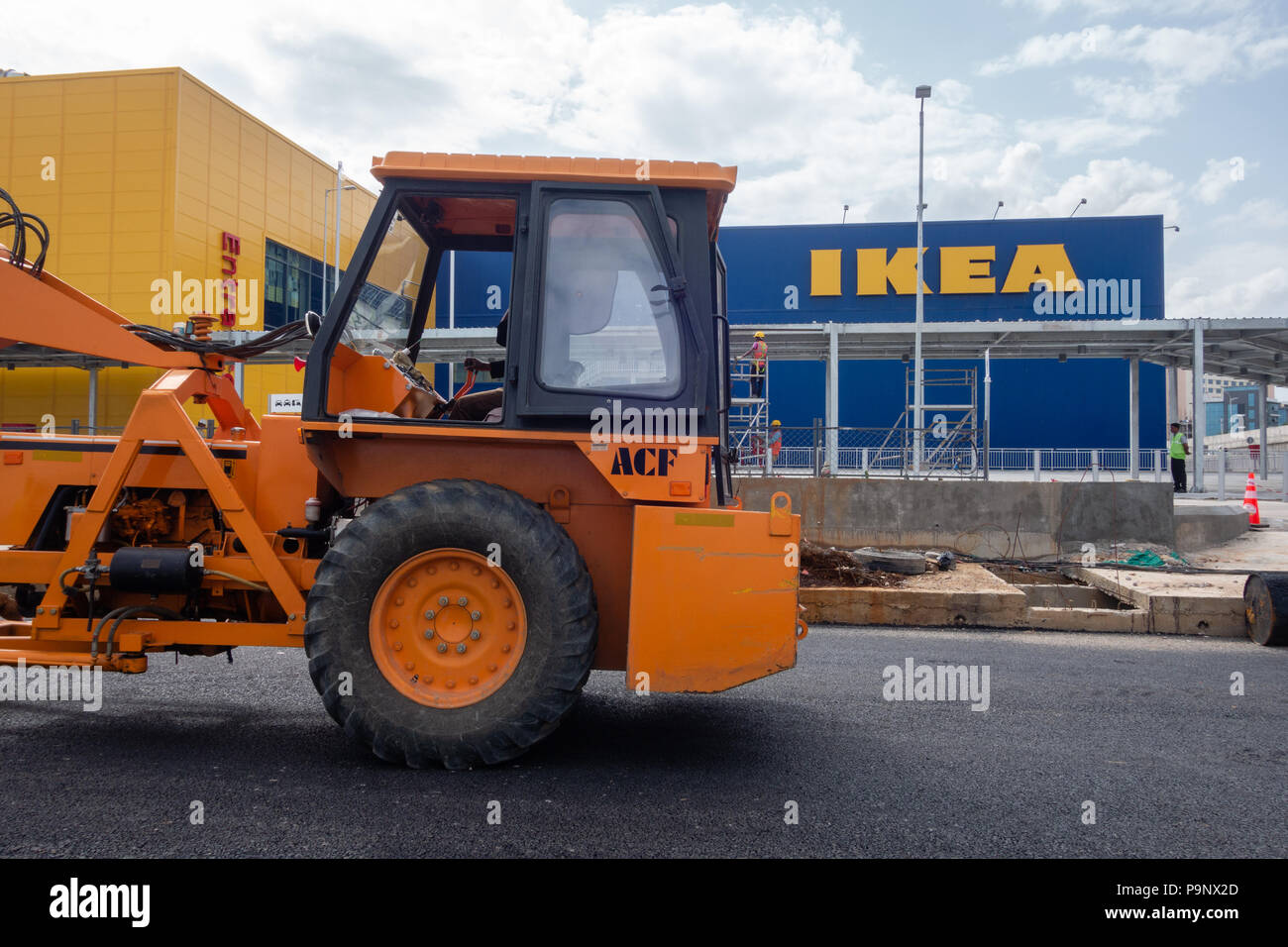 Swedish furniture giant IKEA will open it's first store in India on August 09,2018 in the southern city of Hyderabad.It was scheduled to open on July  - Stock Image