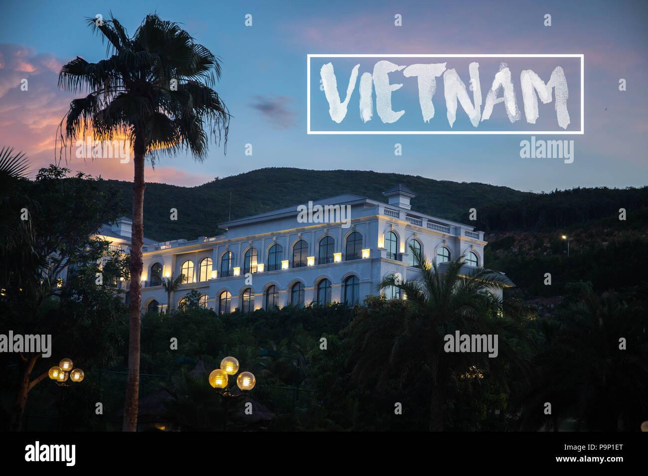 Vinpearl Vietnam - Stock Image