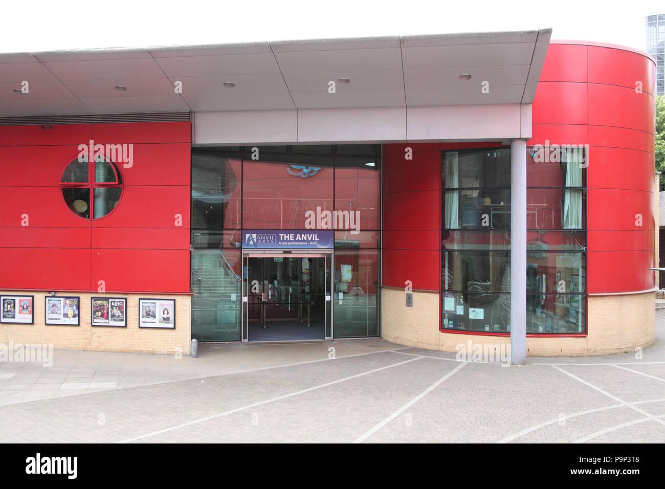The Anvil Arts, multipurpose venue, Church Way, Basingstoke, UK. - Stock Image