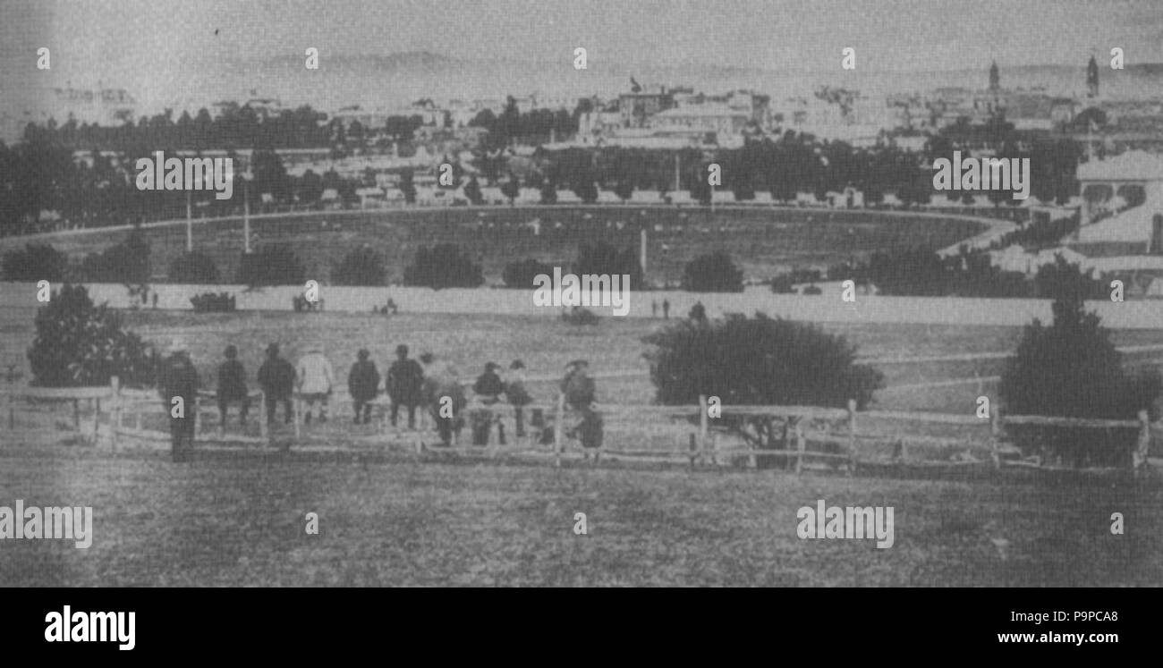 99 adelaide oval 1880s stock image