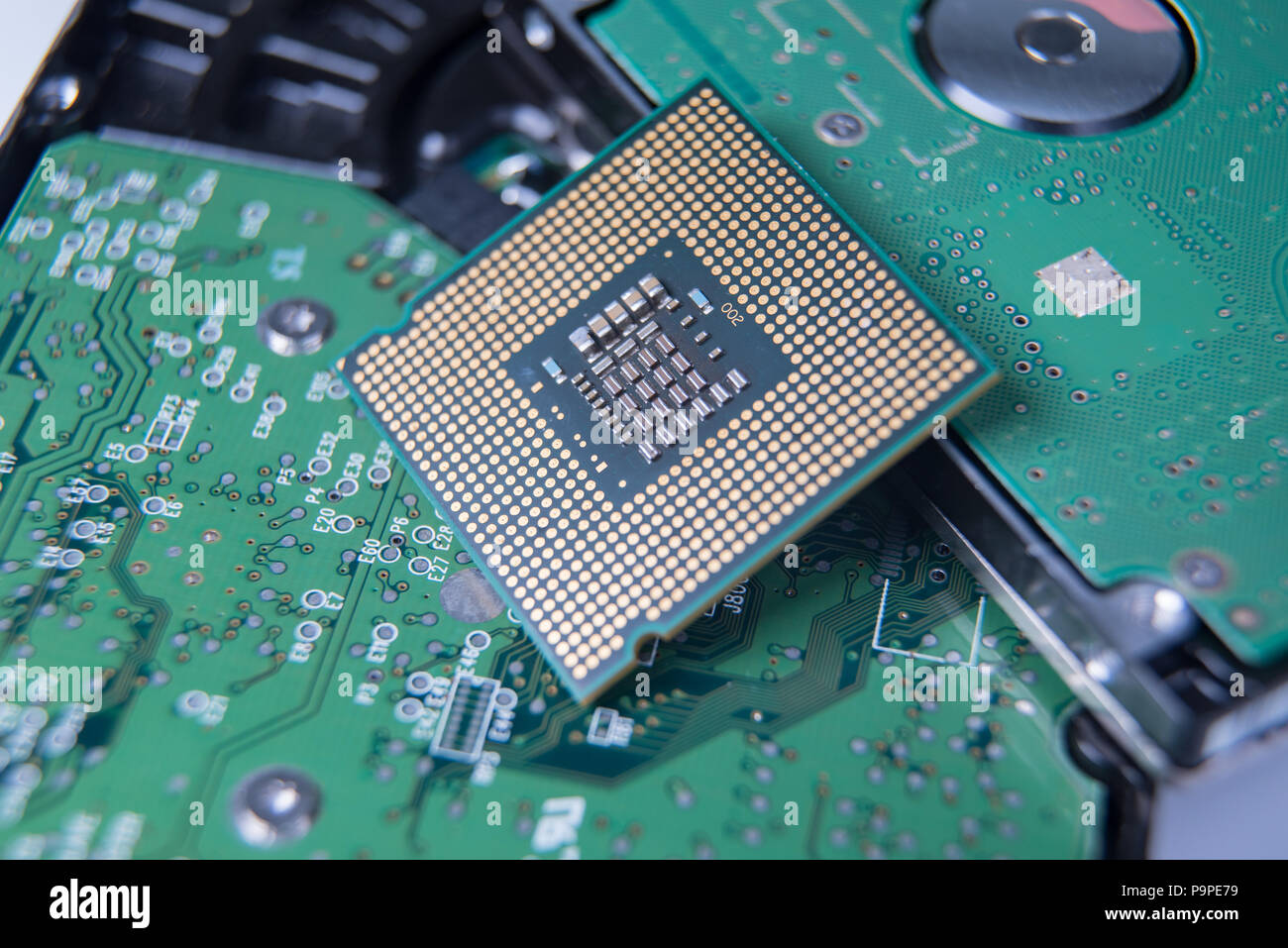 electronic cpu stock photos \u0026 electronic cpu stock images alamyWhite Gloved Hands And Brush Cleaning Computer Circuit Board Cpu Stock #6